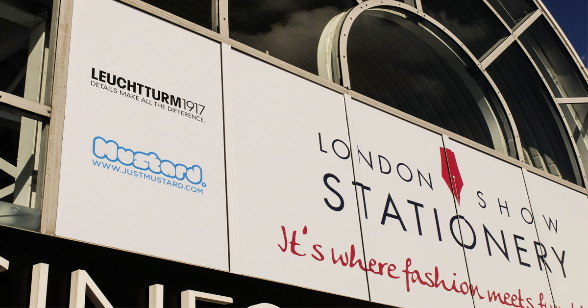 Mustard was part of the London Stationery Show 2017