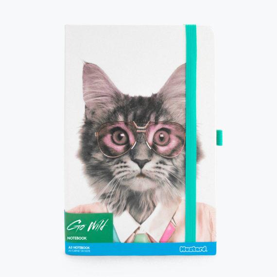 Go Wild Notebook - Cat
