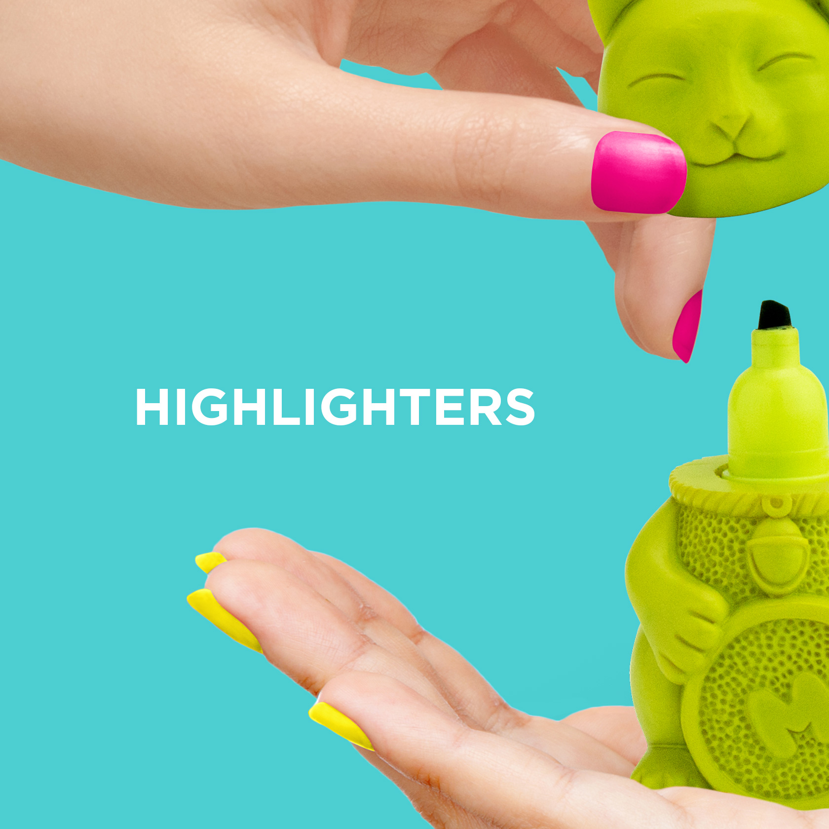 Buy our range of cool highlighters from justmustard.com