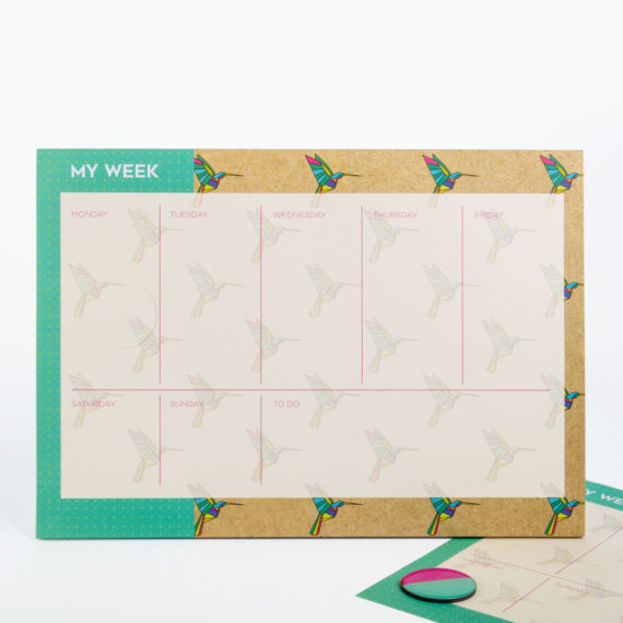 Origami Weekly Planner from www.justmustard.com