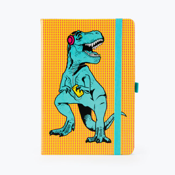 T-Rex Notebook Blue from www.justmustard.com