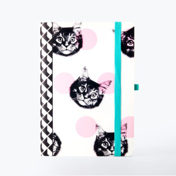 Cat Notebook from www.justmustard.com