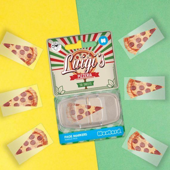 Luigi's Pizzeria Page Markers