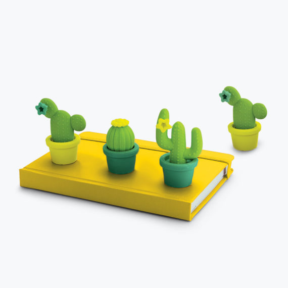 Cactus Erasers from www.justmustard.com