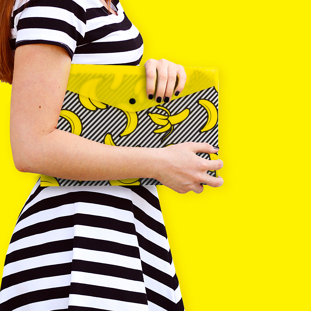 Banana Document Wallets from www.justmustard.com