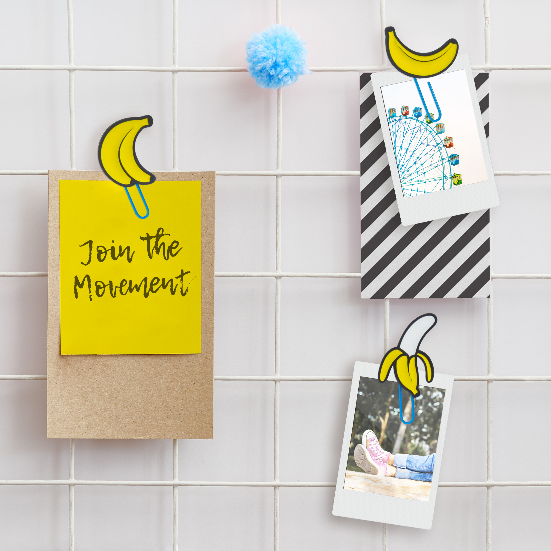 Banana Picture Hangers from www.justmustard.com
