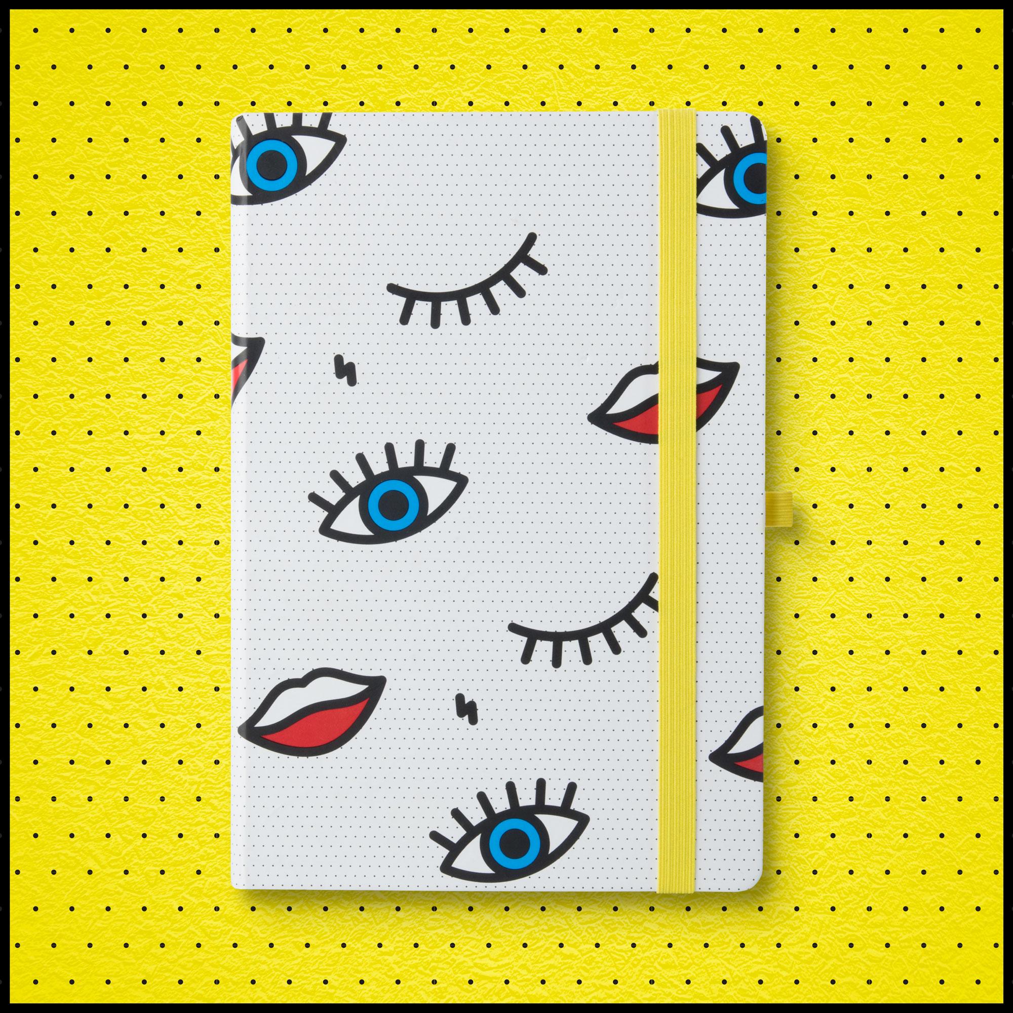 Wink Notebook from justmustard.com