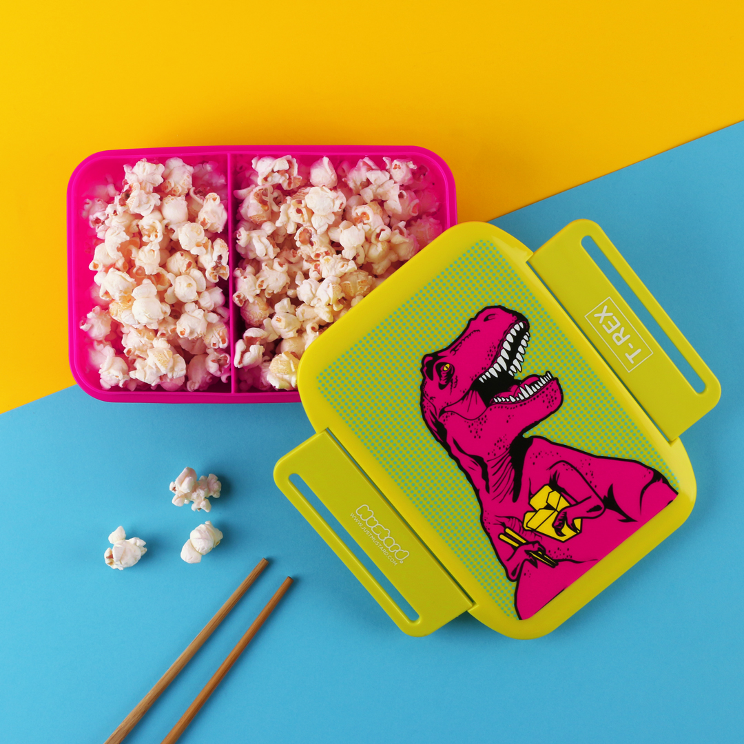 T-Rex lunch box from www.justmustard.com