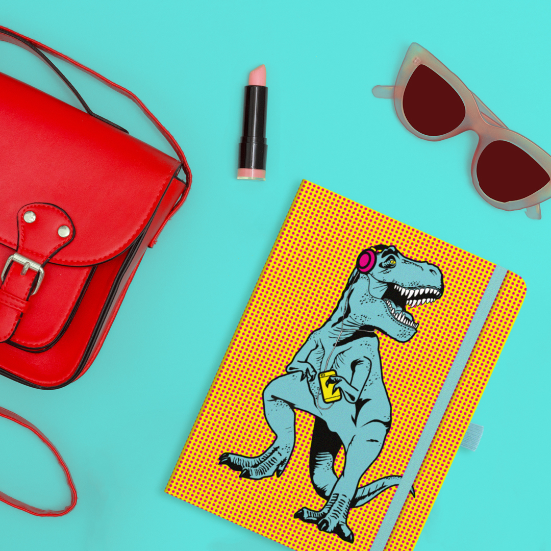 T-Rex Notebook from justmustard.com