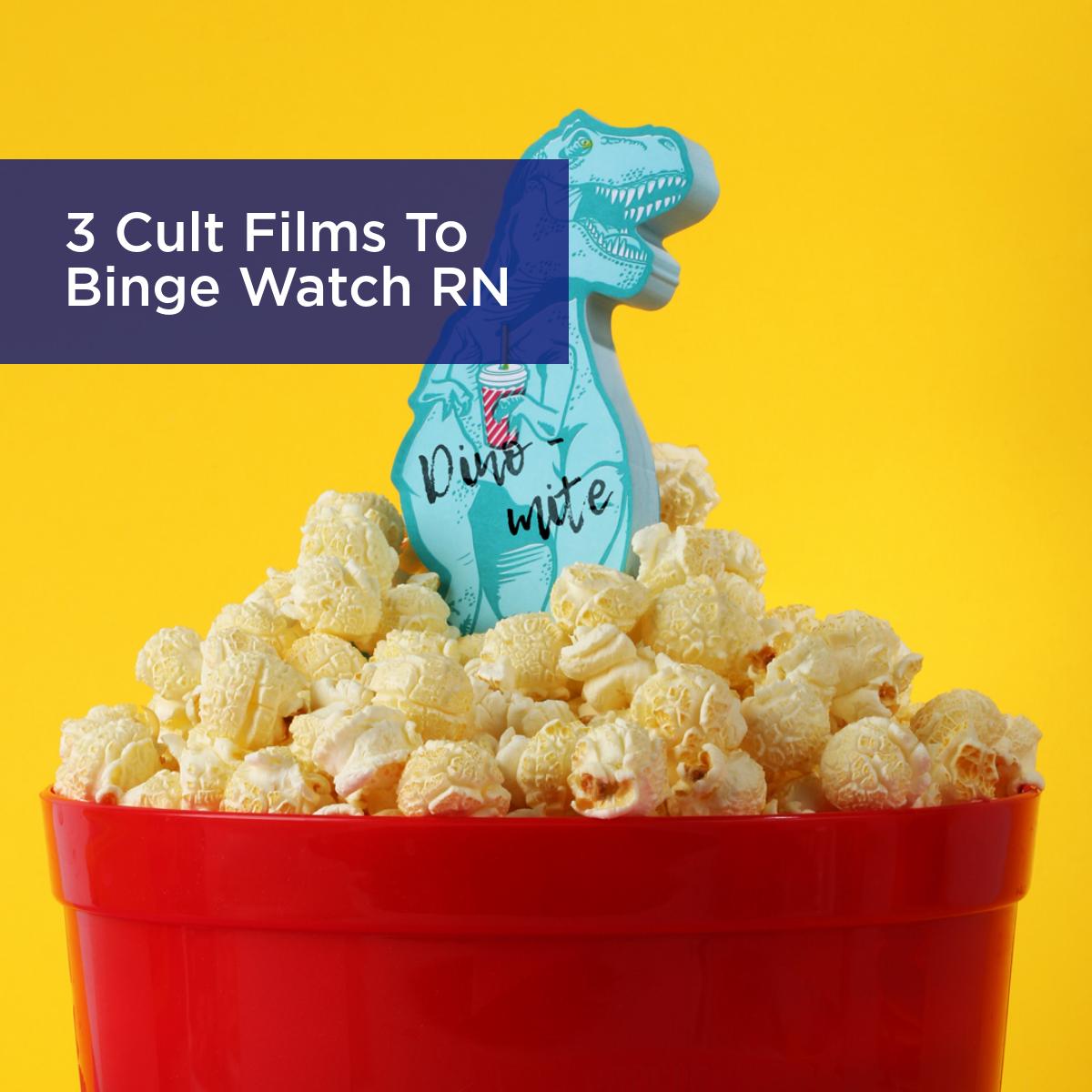 3 Cult Films To Binge Watch RN
