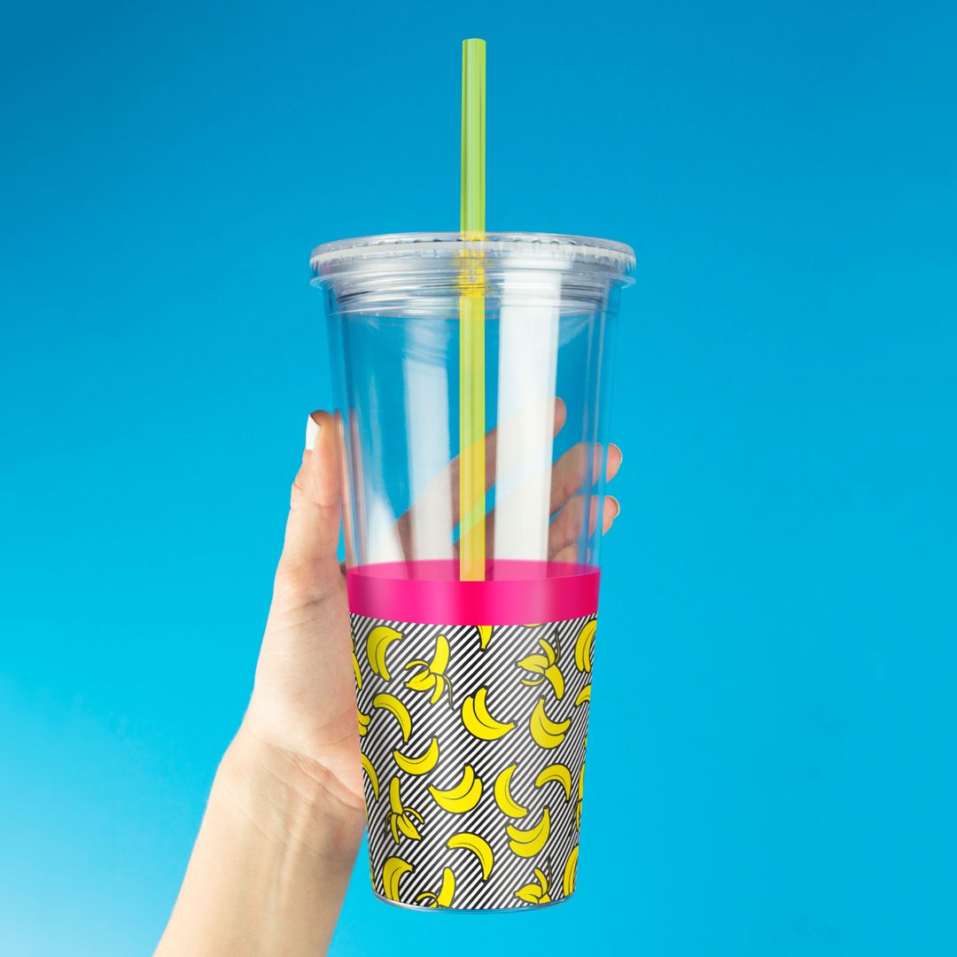 Banana Straw Cup from Mustard
