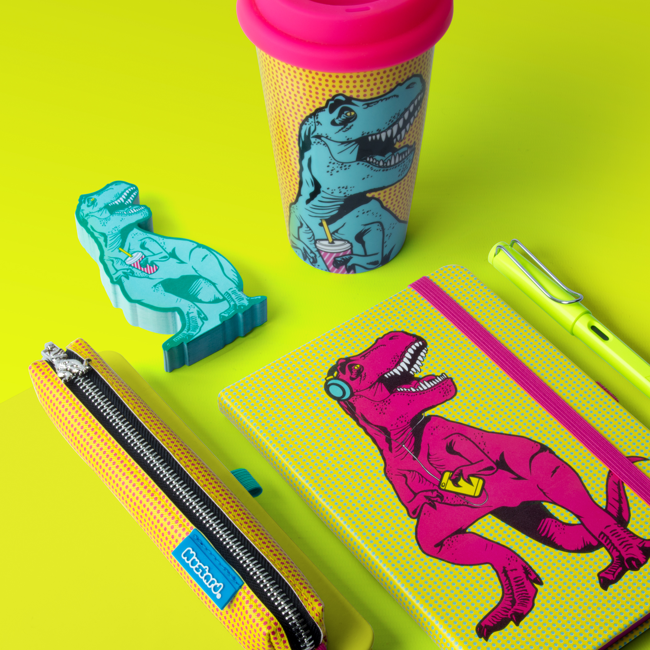T-Rex Stationery Set