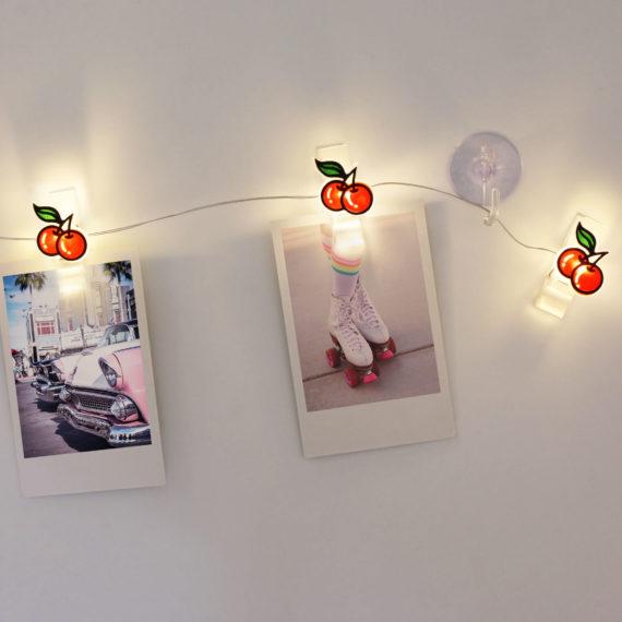 Cherry Light Clips from www.justmustard.com
