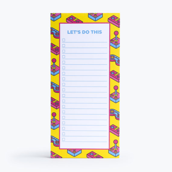 Power Up To Do List from www.justmustard.com