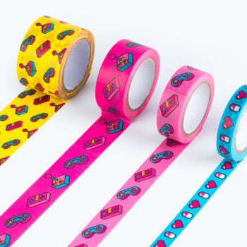 Power Up Washi Tape from www.justmustard.com