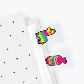 Pinata Page Markers from www.justmustard.com