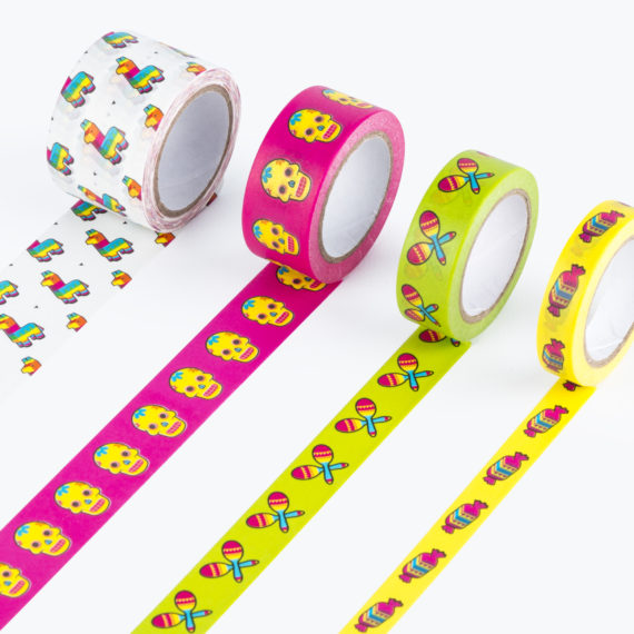 Pinata Washi Tape from www.justmustard.com
