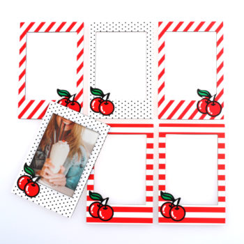 Cherry Magnetic Frames from www.justmustard.com