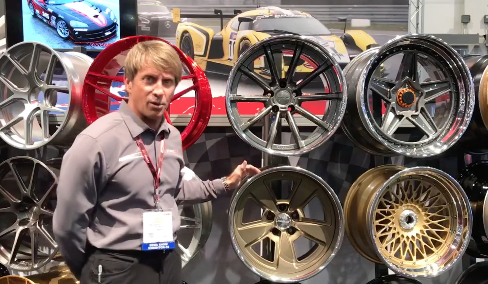 JO3C Wheels at the 2018 SEMA Show