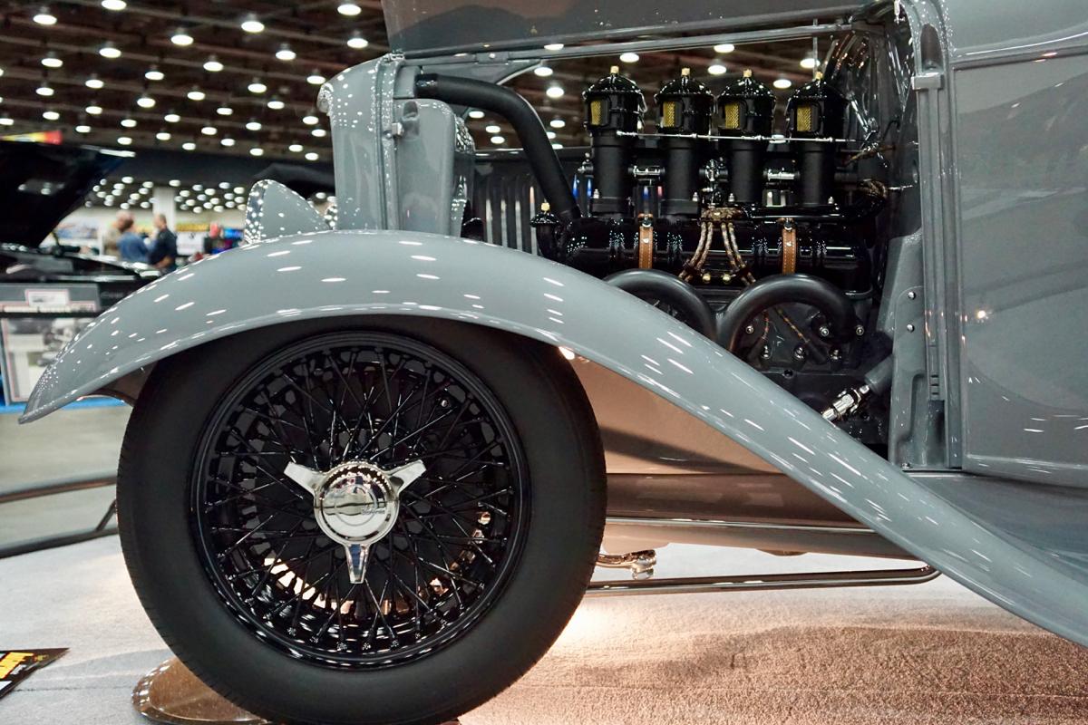 Legacy 1932 Ford Victoria FastLane Rod Shop Great 8 Finalist