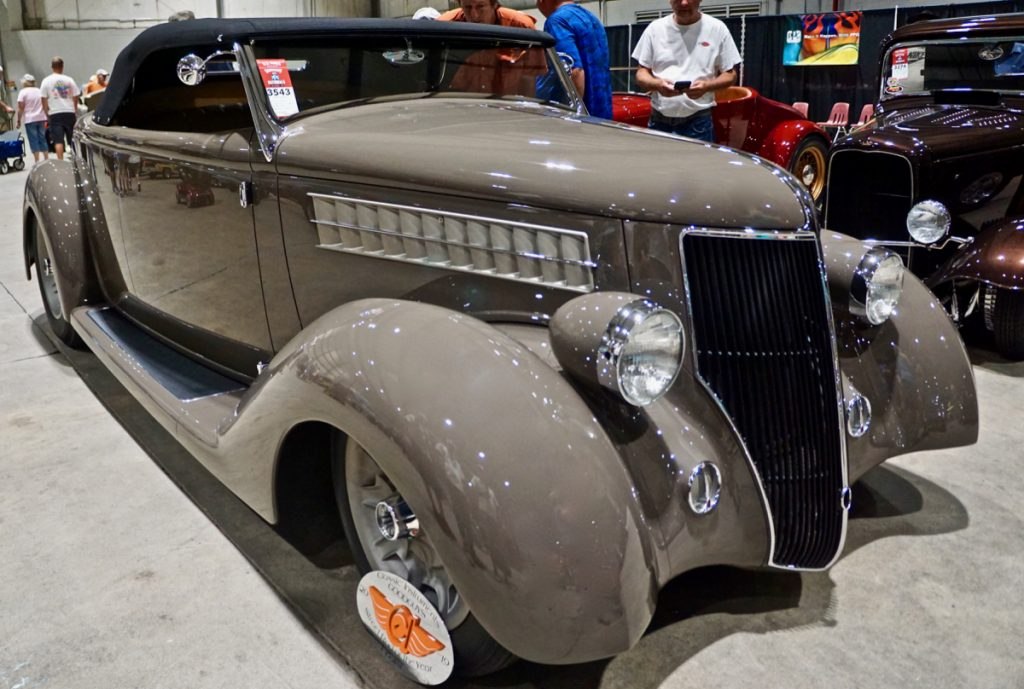 Goodguys Street Rod of the Year Top Five Finalist '36 Ford 3 Penny Roadster