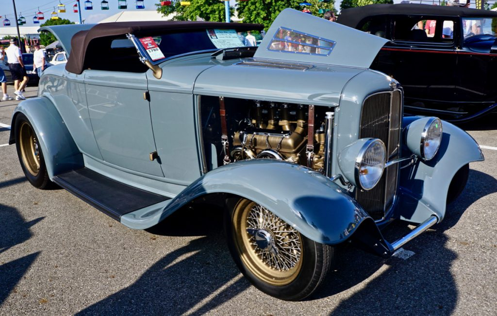 Goodguys Street Rod of the Year Top Five Finalist Streamline Custom Designs '32 Ford Roadster