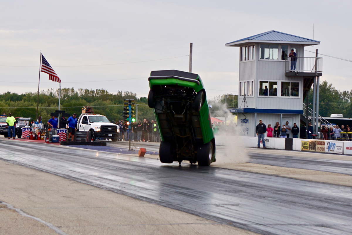Hollywood Wes Newman wheelie 2019 Byron Wheel Stand Championship