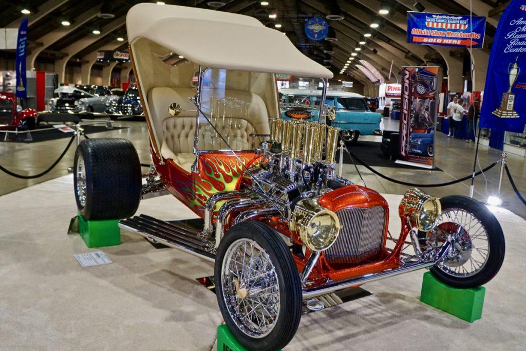 Leg Show 1915 Ford T-Bucket Walter Sigsbey AMBR Contender
