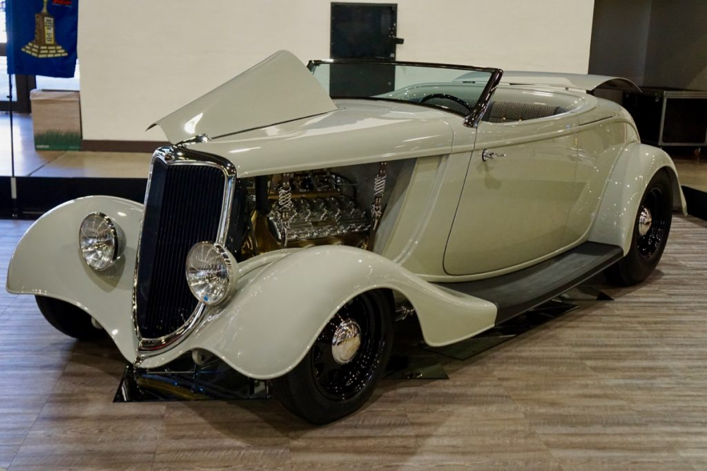 AMBR Adams Hot Rods 1934 Ford Roadster Lady Laird Lincoln