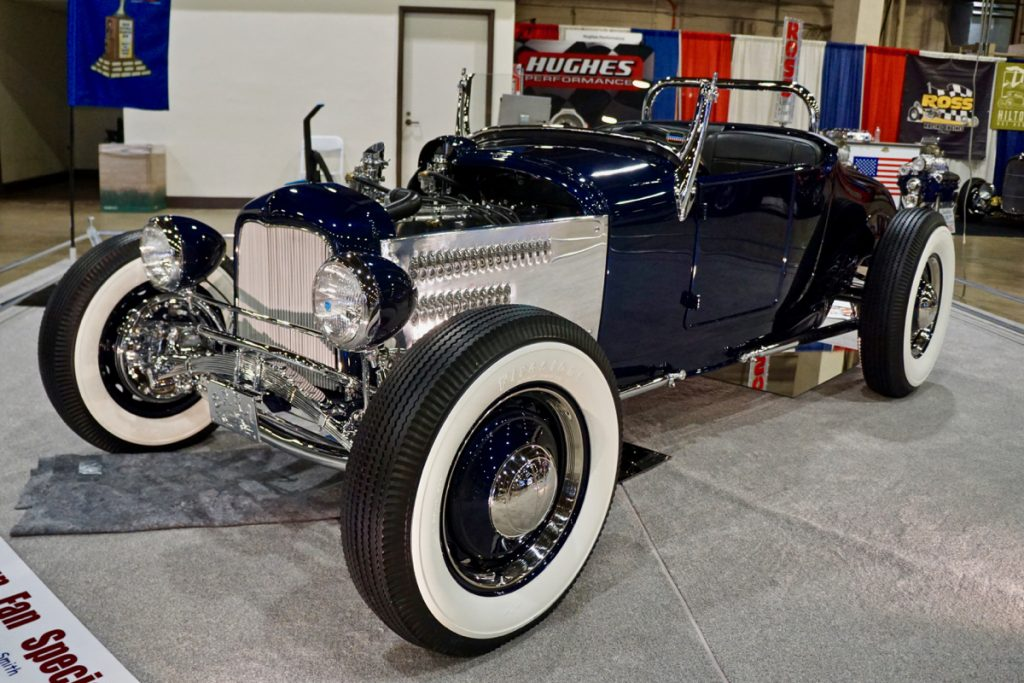 """AMBR Dustin Smith's 1926 Ford Roadster """"Twin Fan Special"""""""