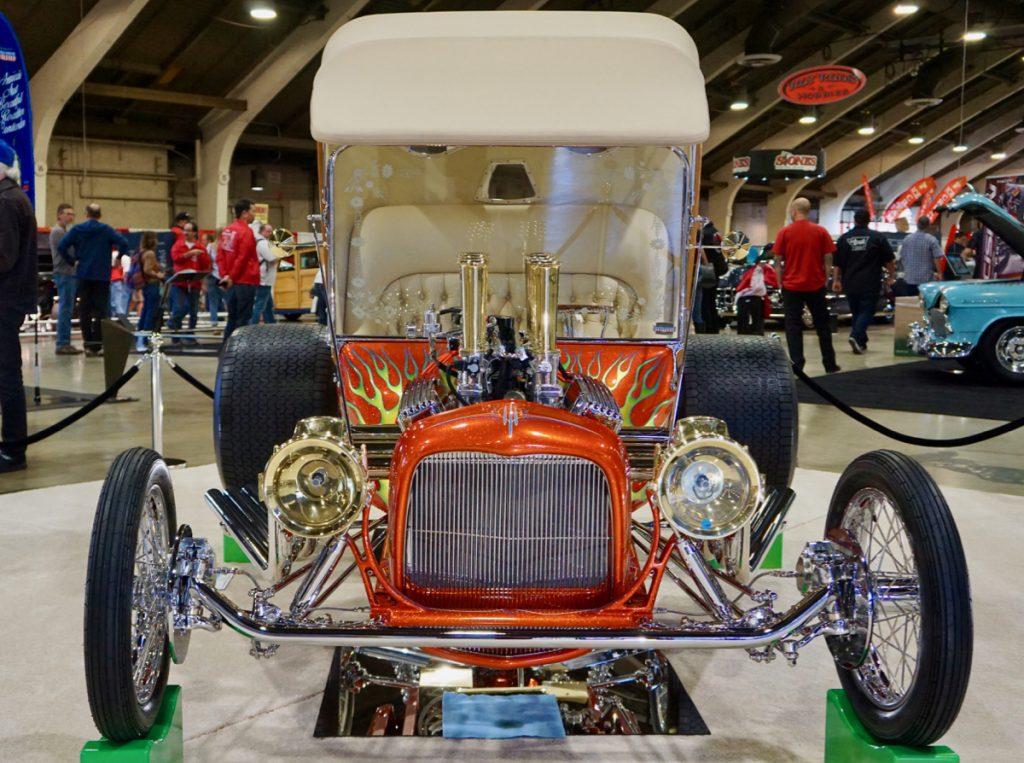 Leg Show 1915 Ford T-Bucket Walter Sigsbey AMBR Contender Contender 2020 GNRS Leg Up
