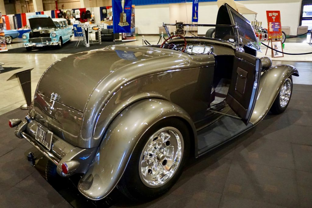 AMBR Stokers Hot Rod Factory 1932 Ford Brownstone Roadster