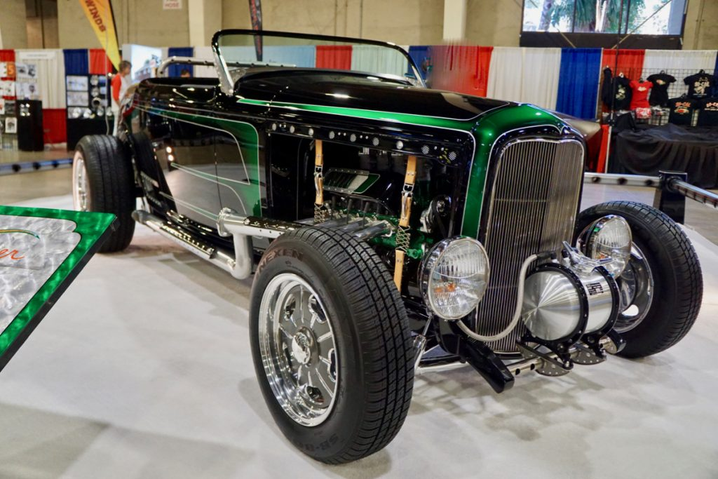 """AMBR Show Time Hot Rods Built 1932 Ford """"Mower Roadster"""""""