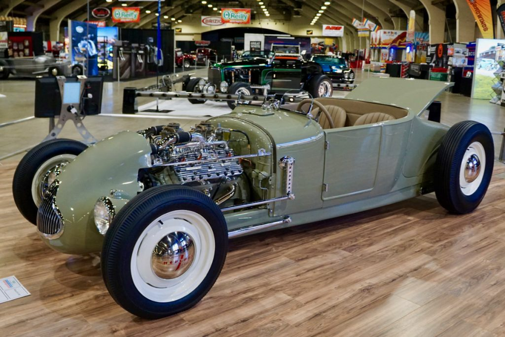 AMBR Schraders Speed Shop 1927 Ford Roadster Ivy-Reed
