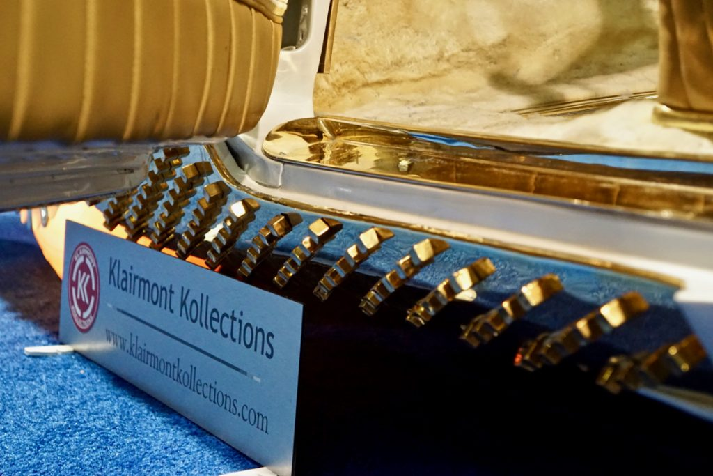 The Golden Sahara II SEMA Show 2019 Klairmont Kollection