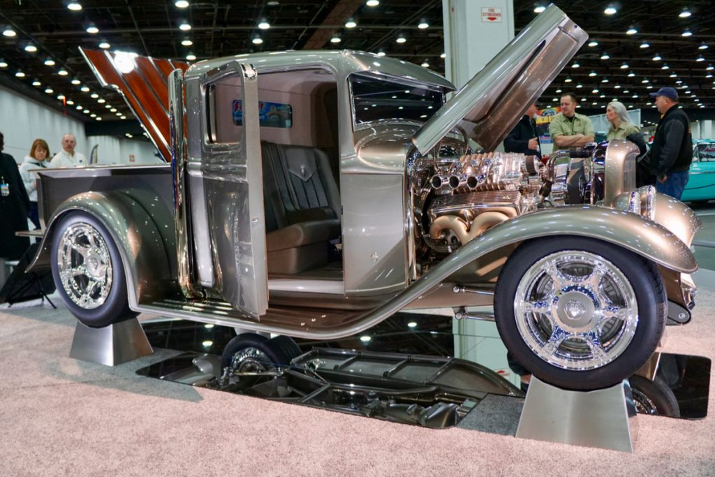 Great 8 Finalist and Ridler Contender 1934 Ford Pick Up Staxx
