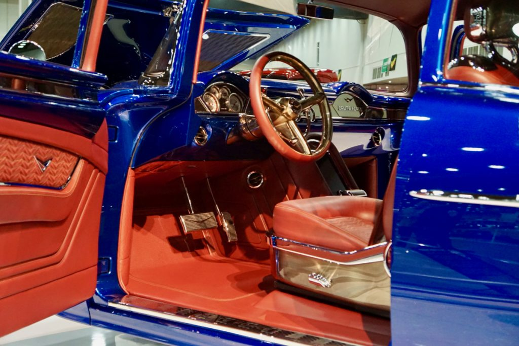 Great 8 Finalist and Ridler Contender 1955 Chevy Bel Air Brute Force