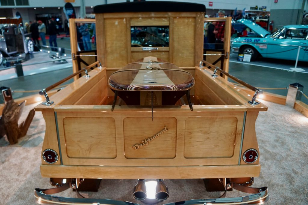 Great 8 Finalist and Ridler Contender Driftwood 1929 Ford Model A