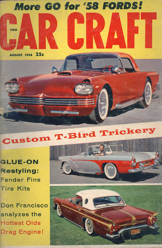 Jerry Anolik 1955 Ford Thunderbird Moon Rocket GNRS