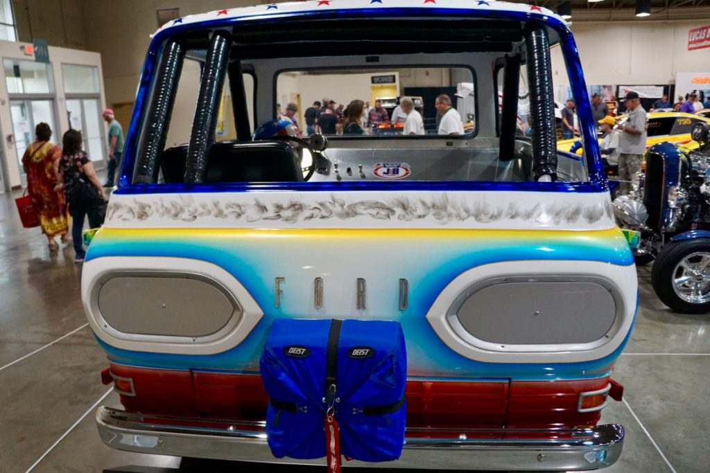 Galpin Speed Shop Backup Pick Up 1965 Ford Econoline Tribute