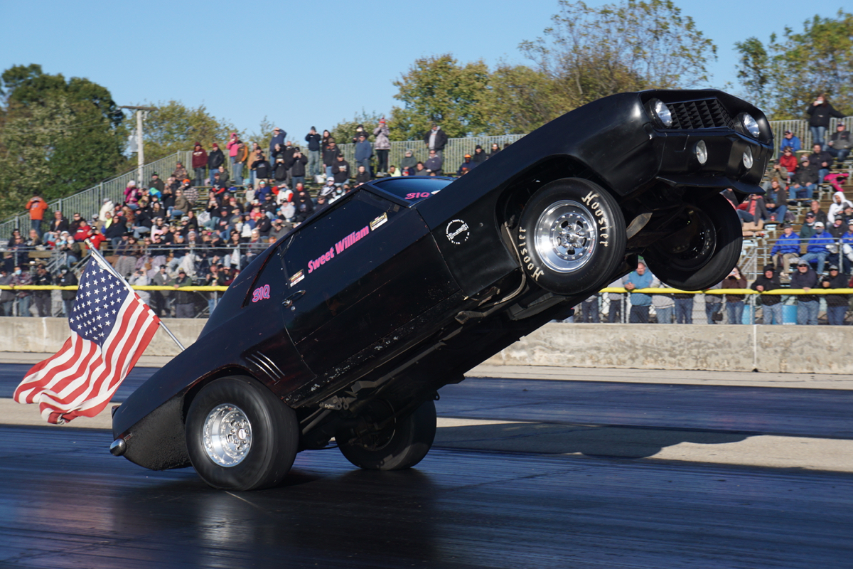Byron Dragway World Power Wheel Stand Championship Wheelie