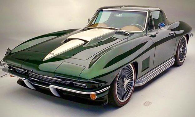 Peter Burchette 1967 Chevy Corvette