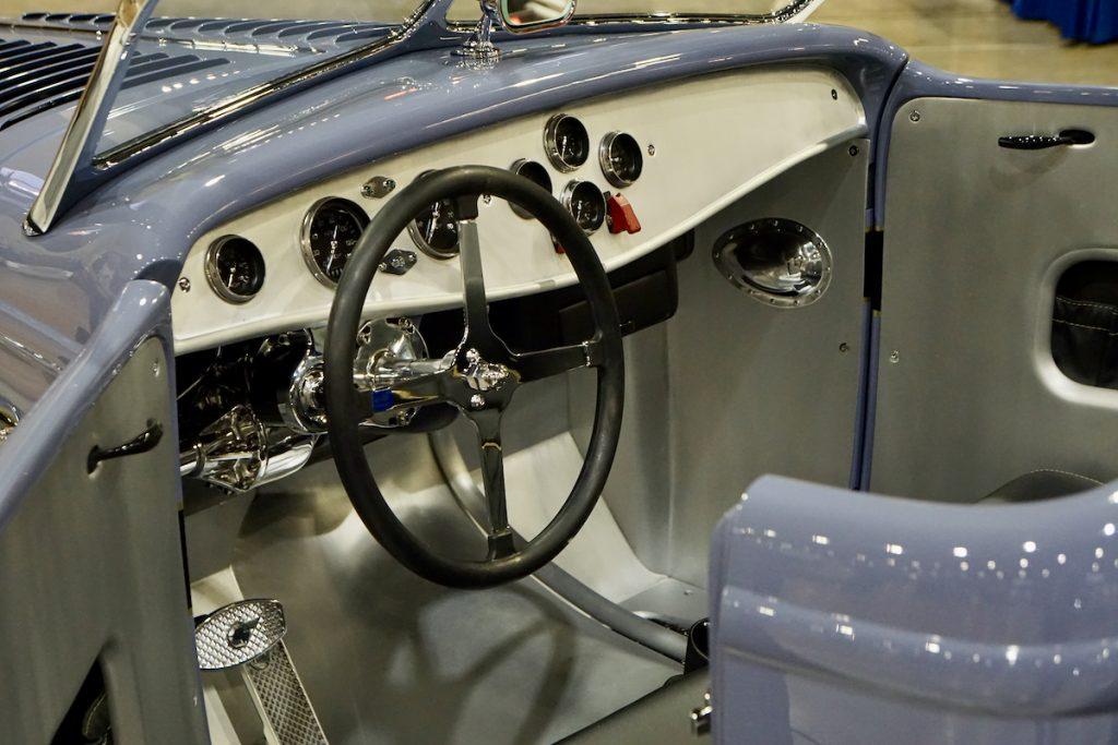 1932 Ford Roadster Pickup War Paint Galpin Speed Shop