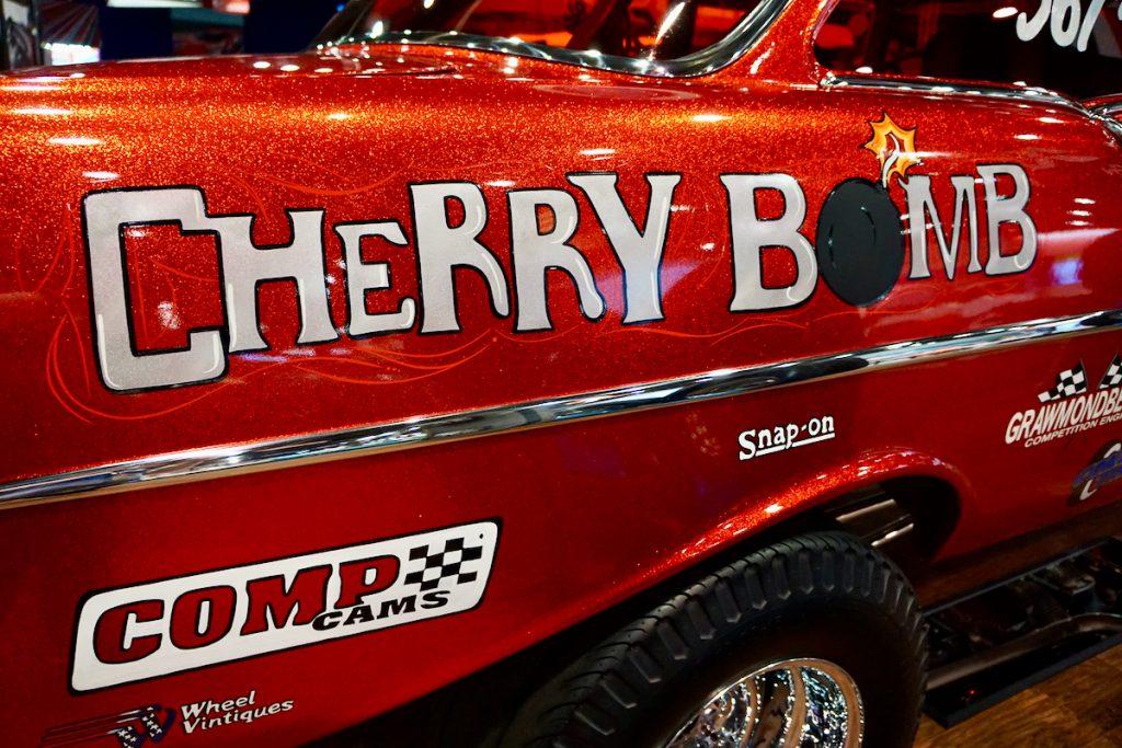 1957 210 Post Chevy Gasser Cherry Bomb SEMA Show (40)