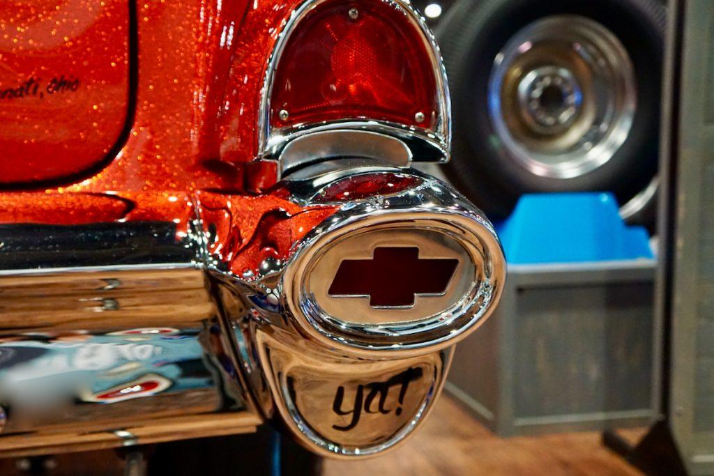 1957 210 Post Chevy Gasser Cherry Bomb SEMA Show (62)