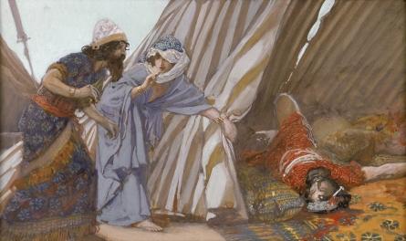 Tissot_Jael_Shows_to_Barak,_Sisera_Lying_Dead