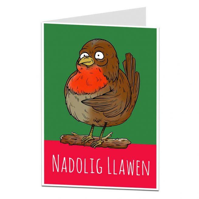 Welsh Xmas Card