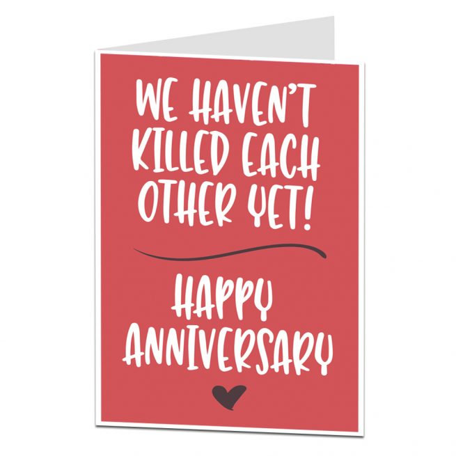 Alternative Anniversary Card