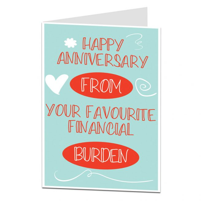 Anniversary Card Husband