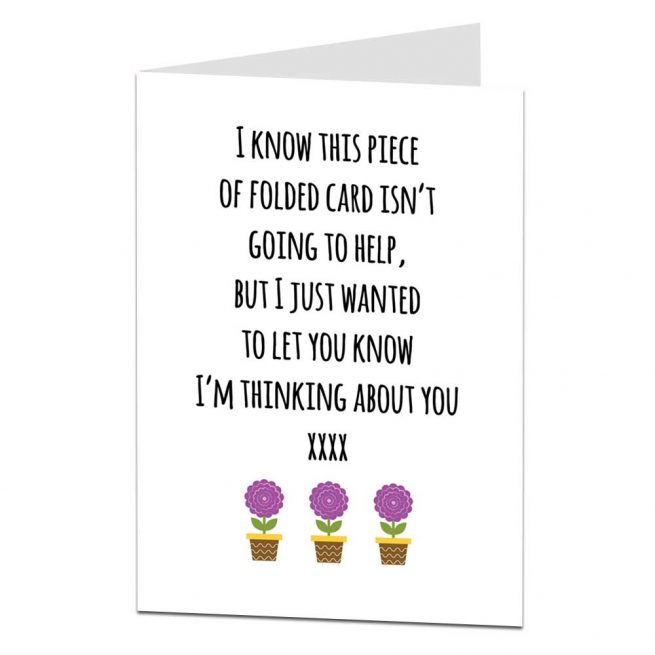 thinking of you empathy card